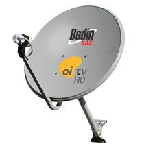 Kit Oi Tv 01 Antena Ku 60cm + 01 Lnb Simples Original