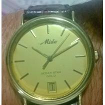 Relógio Mido De Ouro