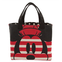 Bolsa Mickey & Minnie Mouse Canvas Tote Disney Store 2016