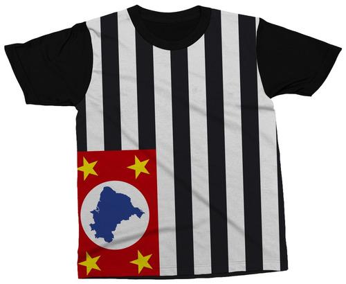 Camiseta São Paulo Estado Brasil Bandeira Símbolo Camisa - R  49 5cd7f66b96a49
