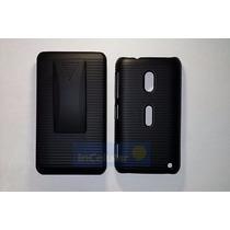 Funda Clip Case Combo Nokia Lumia 620 Rm846 Mica Gratis!
