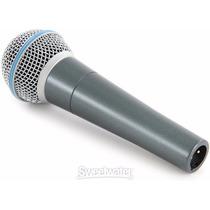 Microfono Vocal Voz Coros Profesional Shure Beta 58a Winners