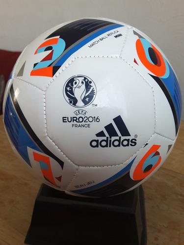 bfbb0f19a9535 adidas Mini Balon Beau Jeu Eurocopa Francia 2016 (tamaño 1) -   500.00 en  Mercado Libre