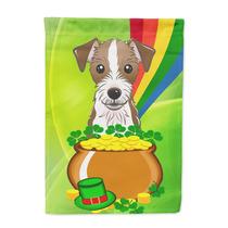 Bandera Día Canvas Tamaño Jack Russell Terrier St Patrick