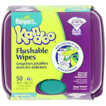 Pampers Kandoo Toallitas Desechables, Melón Magic, 50 Count