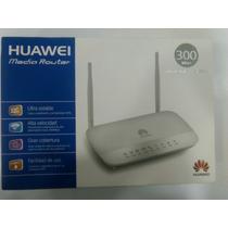 Modem Router Wifi Huawei 300mbps Adsl2+ Super Banda Ancha