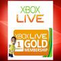 Membresia Xbox Live 1mes Gold, Envio Inmediato!