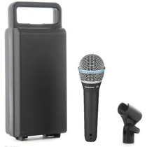 Microfone Dinâmico Samson Q8 Super Cardióide Original