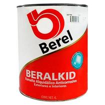 Pintura Esmalte Beralkid Color Ostra (1 Galón) Berel
