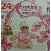 Muñeca 24 Funciones Cumpleaños Con Torta Nenuco Cicciobello