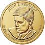 1 Dolar Americano - John F. Kennedy - Letra P- Com Riscos
