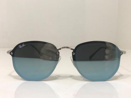 dcfa0f941 Oculos De Sol Ray Ban Rb 3579-n Blaze Hexagonal Originais - R$ 235 ...