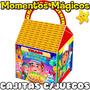 10 Cajita Manny A La Obra Valijita Golosinera + 7 Juegos