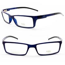 Armação Óculos Para Grau Masculina Hb 100% Original - M 0904