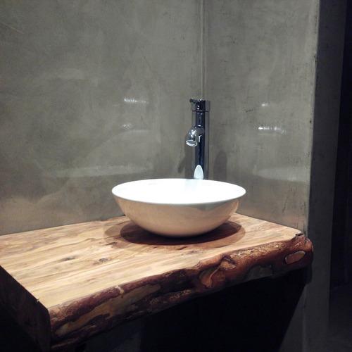 Charming Encimera Para Baño Y Cocina De Madera Nativa Vitrificadas   $ 79.990 En  Mercado Libre