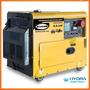 Generador Monofásico De 6.5kw Con Motor Thunder 10hp