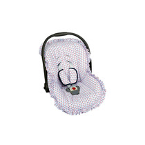 Capa Para Bebê Conforto Com Protetor De Cinto.
