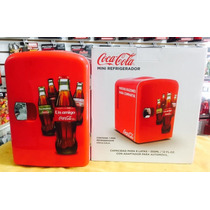 --- Mini-refrigerador Frio/calor De Coca-cola Para Un 6-pack