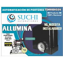 Kit Motor Porton Corredizo Automatico Suchi 100 % Nacional