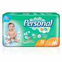 Fralda Descartáveis Personal Baby M Barato Kit 192 Unidades