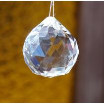 Esfera De Cristal 40 Mm Multifacetada