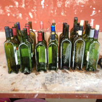 Botellas De Vino Cortadas Muy Original Para Sembrarlas