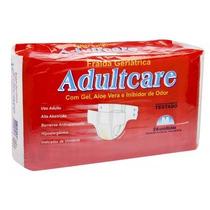Fralda Geriátrica Adultcare Econômica - M - Com 104 Unid.