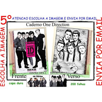 Caderno 10 Matérias One Direction Capa Dura