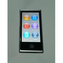 Ipod Nano 7 Geração 16gb Bluetooth Cinza Rádio - Usado