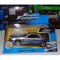 1:32 Nissan Skyline Plata Brian Rapido Y Furioso Jada C Caja