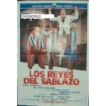Afiche Los Reyes Del Sablazo Olmedo Jorge Porcel 1984