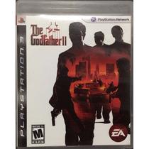 Jogo The Godfather Ps3 Sony Playstation Original