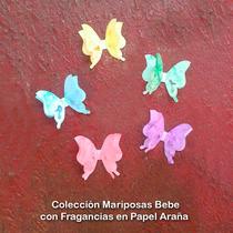 Mariposas Bebé Con Fragancia De 7x5 Cms (pqte De 12 Un)