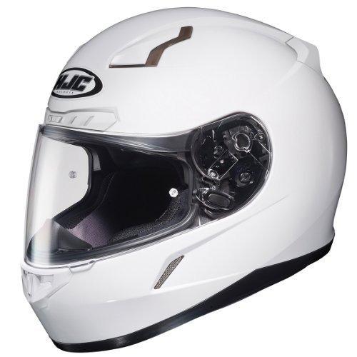 523606e1d1732 Casco De Moto De Cara Completa Hjc 824-143 Cl-17 (blanco