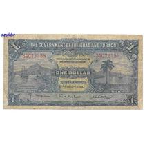 * Trinidad And Tobago - 1 Dollar 2.1.1939 - P.5b - Bc *