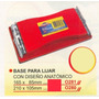 Base Para Lijar 210x105mm Power O280 #