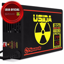 Fonte Carregador Bateria Usina 150a Voltímetro E Amperímetro