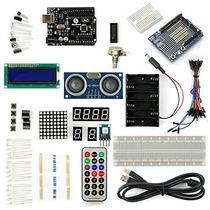 Sainsmart Uno R3 Starter Kit Con 19 Proyectos Básicos Del T