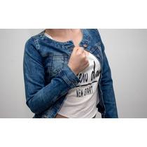 Promoción!lindas Chaquetas Jean, Modernos Diseños, Juveniles