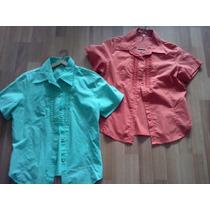 Camisas De Señora Talle 1 Y 2. Nuevas