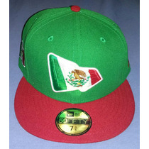 Excelente Gorra New Era 59fifty Mexico Bandera