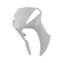 Bico Frontal Carenagem Honda Biz 125 13/14 Ex+ Branco Melc