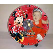 10 Reloj Cd Personalizado Hd Foto Pilas Y Atril Gratis!