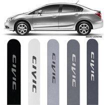 Jogo Friso Lateral Honda New Civic 2012 2013 2014 2015 2016