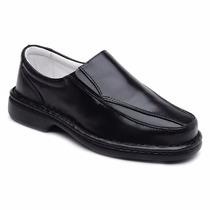 Sapato Social Masculino Anti Stress Ortopédico Ind Diabético