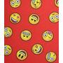 Emoji Rojo Lona