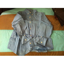 Camisa Azul Place Talla7-8 Vv4