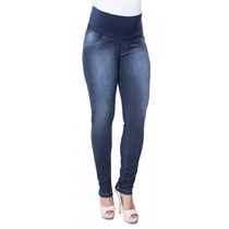 Calça Jeans Gestante Renata Skinny