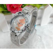 Relógio Do Mickey -importado- Pronta Entrega