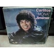 Vinilo Lp Carlitos Mona Jimenez Vigencia Lp Ex